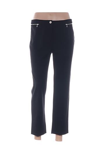 Pantalon 7/8 noir DIANE LAURY pour femme