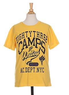 Produit-T-shirts-Garçon-CAMPS UNITED