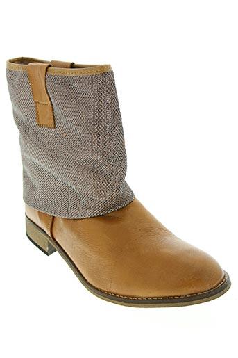 onky chaussures femme de couleur marron