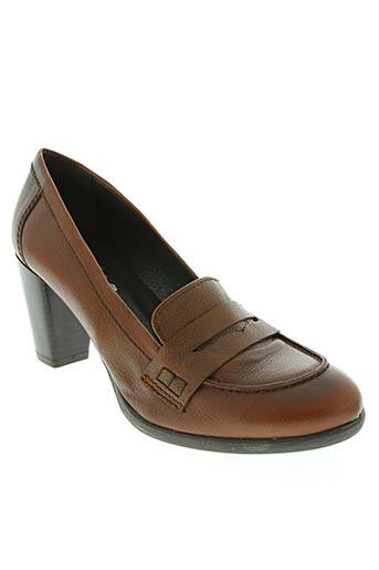 rober chaussures femme de couleur marron