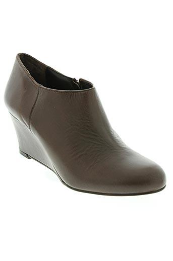andre chaussures femme de couleur marron