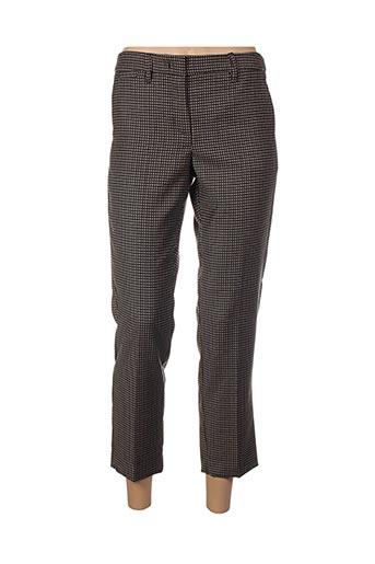 Pantalon 7/8 noir MARELLA pour femme