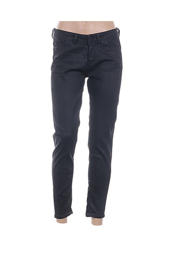 Jeans coupe slim noir ID COMMUNITY OF DENIM pour femme