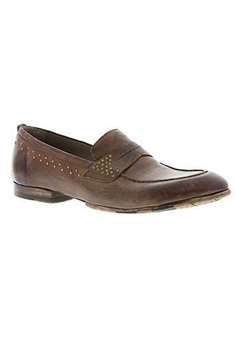 corvari chaussures homme de couleur marron