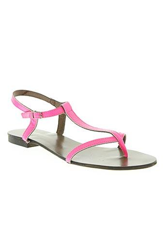 reqins chaussures femme de couleur rose