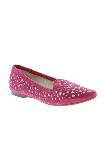 meline chaussures femme de couleur rose