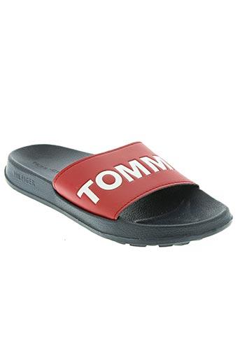 tommy hilfiger chaussures garçon de couleur rouge