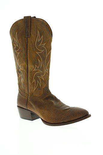 mexicana chaussures homme de couleur marron