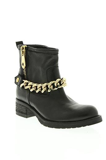 jfk chaussures femme de couleur noir
