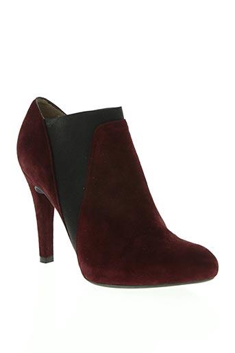 unisa chaussures femme de couleur rouge
