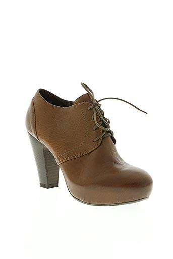 vic chaussures femme de couleur marron