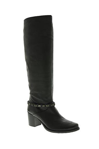 fruit chaussures femme de couleur noir