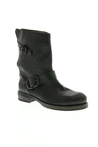 ink chaussures femme de couleur noir