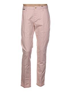 Pantalon casual rose SCOTCH & SODA pour homme