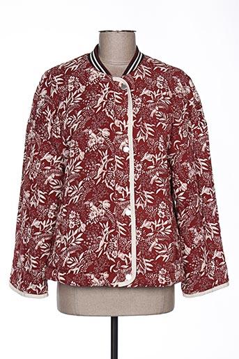 Veste casual rouge MAISON SCOTCH pour femme