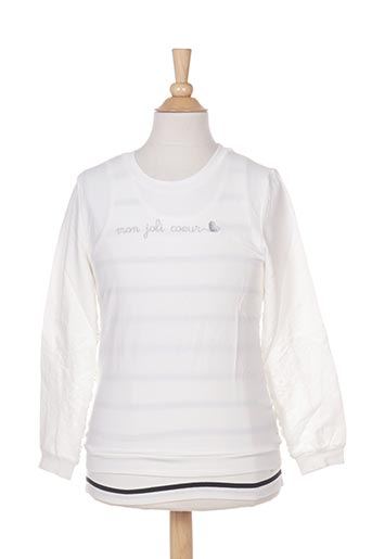 Sweat-shirt beige MARESE pour fille