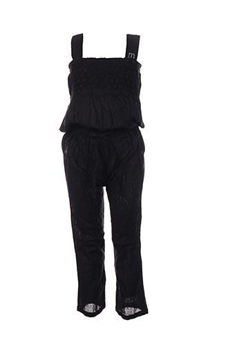 Combi-pantalon noir MARESE pour fille