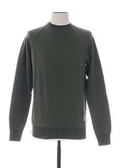 Sweat-shirt vert FRENCH DISORDER pour homme