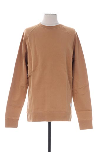 Sweat-shirt beige FRENCH DISORDER pour homme
