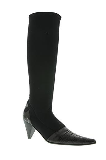 sylvie geronimi chaussures femme de couleur noir