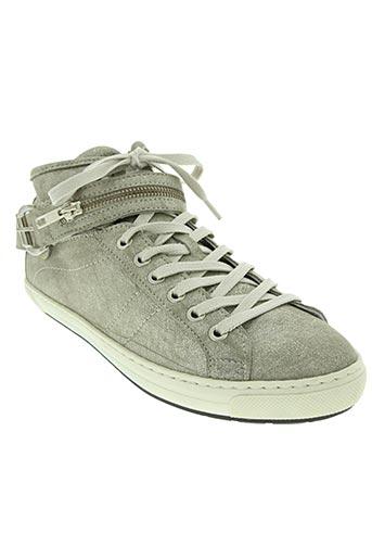 philippe morvan chaussures femme de couleur gris