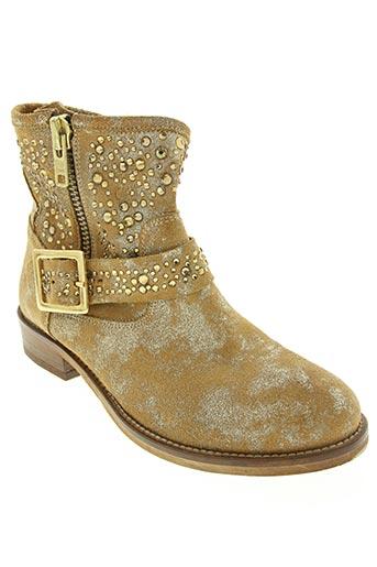 life chaussures femme de couleur beige