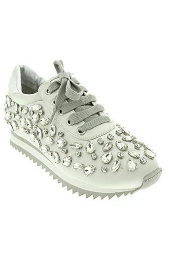 sara lopez chaussures femme de couleur gris