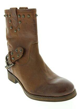 Bottines/Boots marron BISOUS CONFITURE pour femme