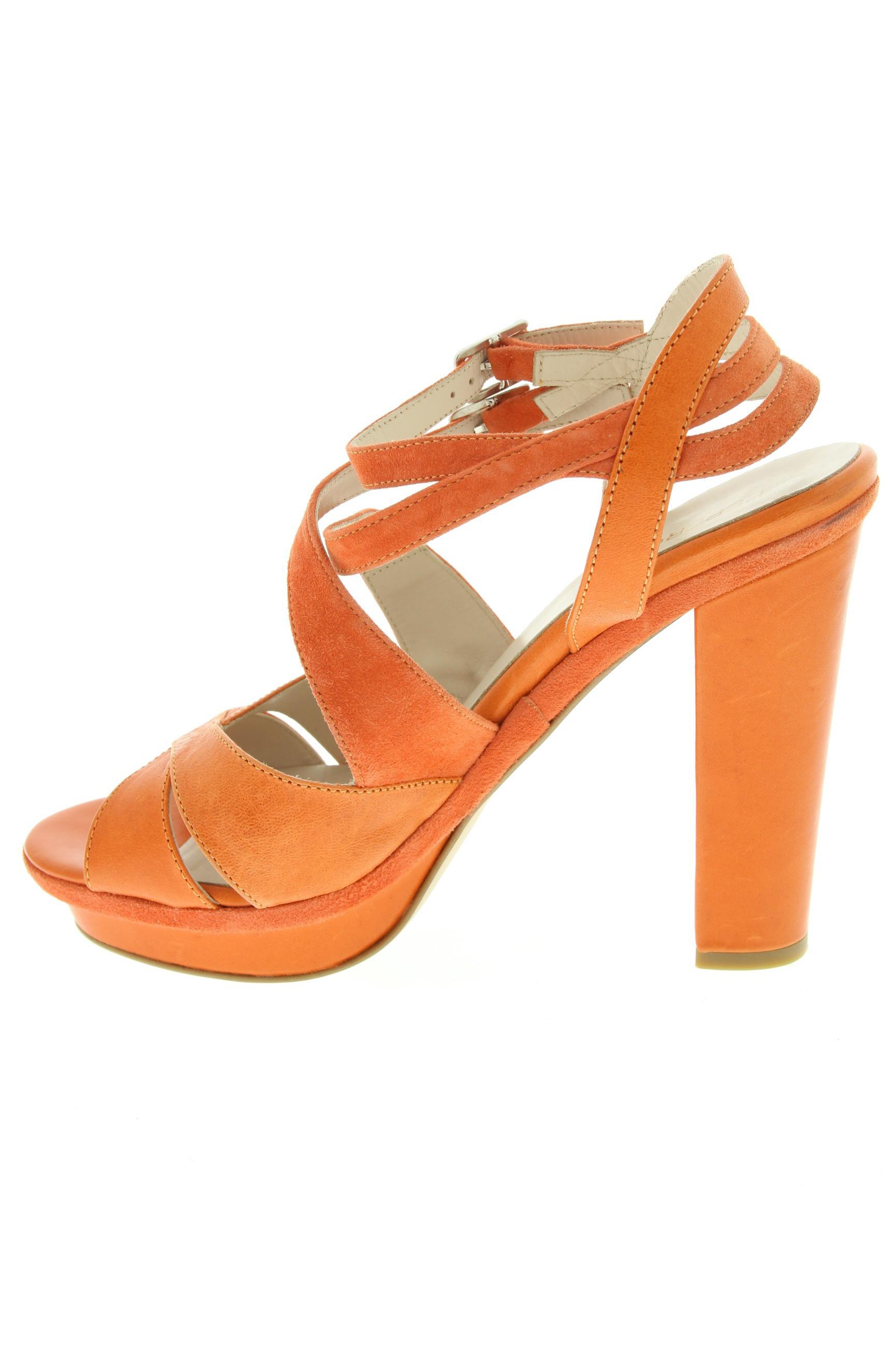 Peperosa Sandales Nu Pieds Femme De Couleur Orange En Soldes Pas Cher 1305984-orange