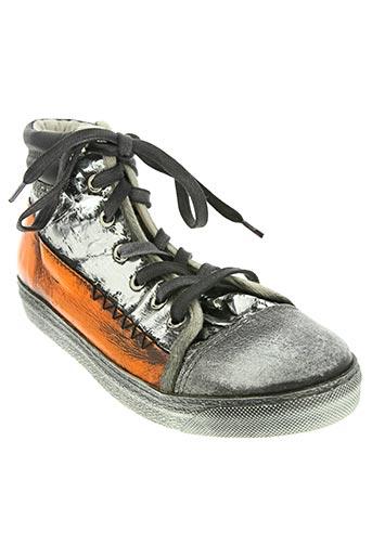 felmini chaussures femme de couleur orange