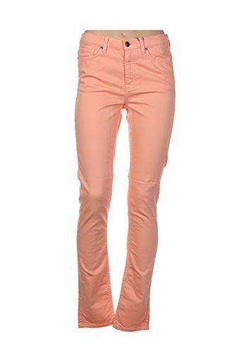 Pantalon casual orange GANT pour femme