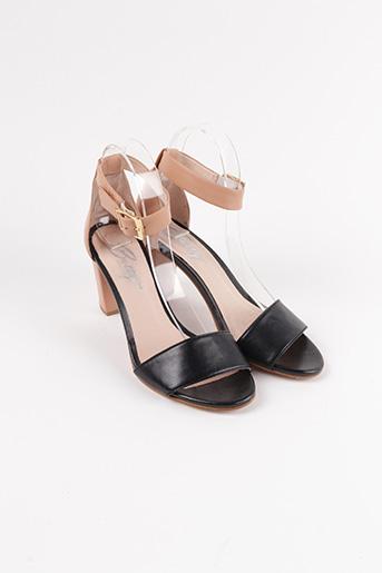 Sandales/Nu pieds noir BETTY LONDON pour femme