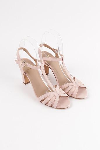 Sandales/Nu pieds rose BOBBIES pour femme