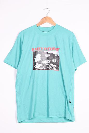 T-shirt manches courtes bleu WASTED PARIS pour homme