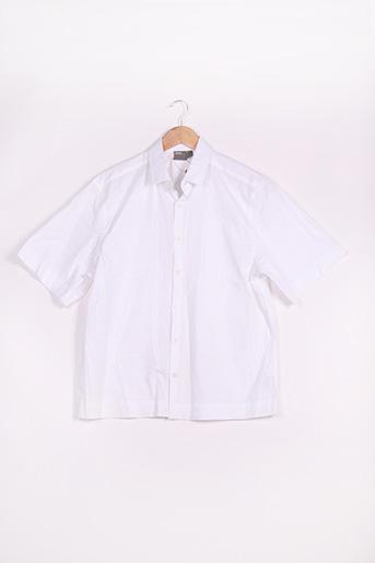 Chemise manches courtes blanc ASOS pour homme