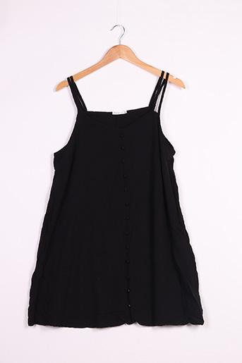 Robe courte noir GEMO pour femme