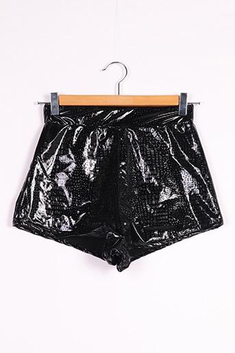 Short noir BOOHOO pour femme