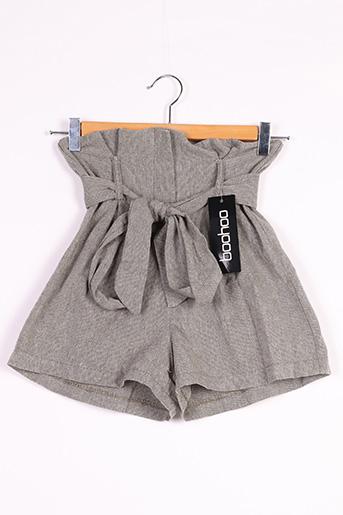Short vert BOOHOO pour femme