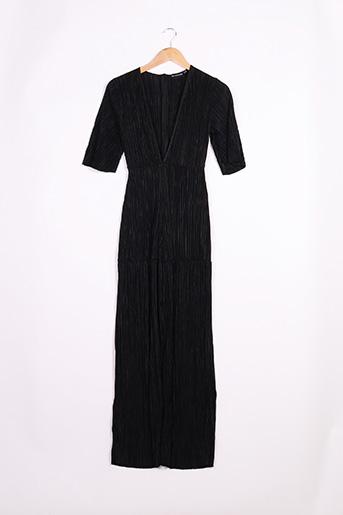 Combi-pantalon noir PRETTY LITTLE THING pour femme
