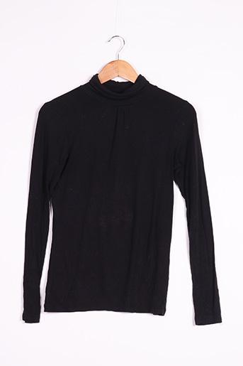 Sous-pull noir TISSAÏA pour femme
