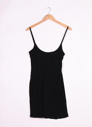 Robe courte noir CAPUCINE PUERARI pour femme