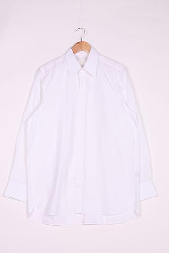Chemise manches longues blanc COS pour homme