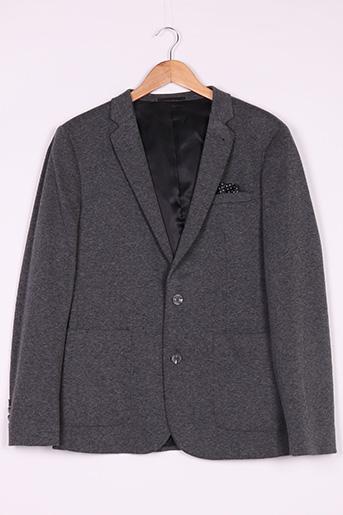 Veste chic / Blazer gris ASOS pour homme