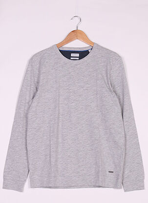 Sweat-shirt gris ESPRIT pour homme