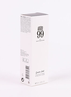 Soin visage blanc HOUSE 99 BY DAVID BECKHAM pour homme