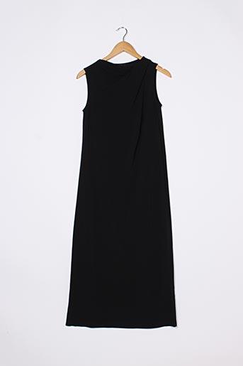 Robe longue noir COS pour femme