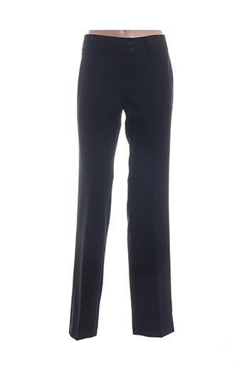 Pantalon chic bleu CHIQUITA pour femme