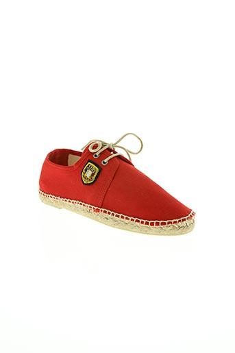 1789 cala chaussures homme de couleur rouge