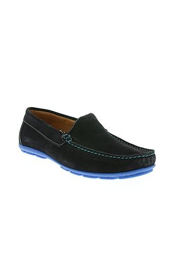 hipness chaussures homme de couleur bleu