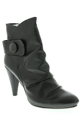 Bottines/Boots noir AVANT-GOUT pour femme